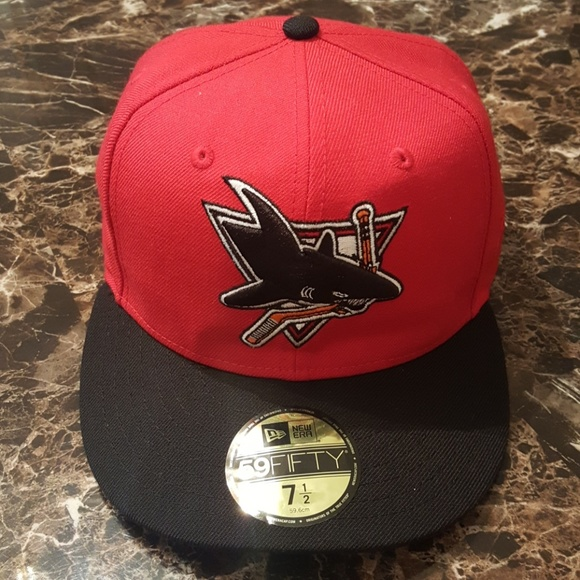 San Jose Sharks Fitted New Era Cap af0f0a2b6e8a