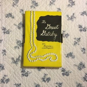 Kate Spade Book Clutch Vol 1 🍸 Gatsby 🍸