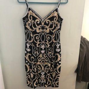 Vintage Sequined Dress