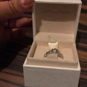 Sterling silver princess sing Size 7