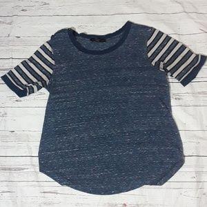 Sanctuary blue t shirt top size medium