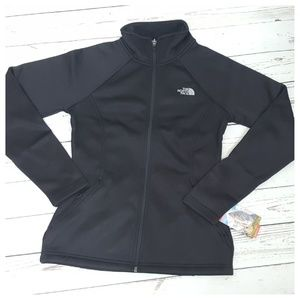 The North Face Agave Full Zip Jacket SM Black NWT