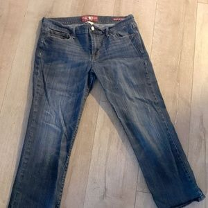 Lucky-Brand-Sweet-N-Crop-Jeans-Womens-Size-12