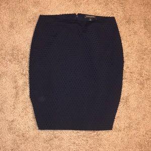 0p blue banana republic skirt