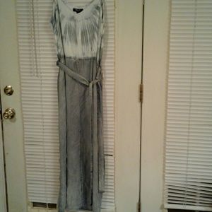 NWOT Tie dyed Nine West Blue & White Dress