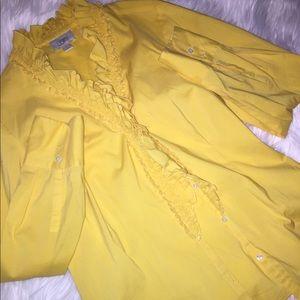 Ann Taylor Yellow Blouse