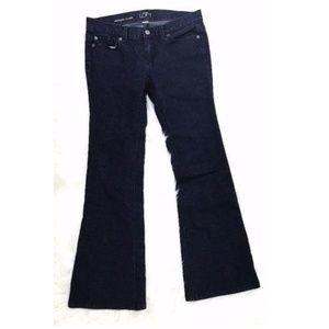 LOFT Ann Taylor Modern Flare Trousers Jeans 4P
