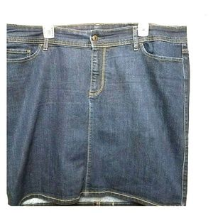 Brand new without tags, denim skirt