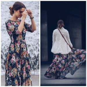 Anthropologie Yumi Kim Garden Grown Maxi Dress