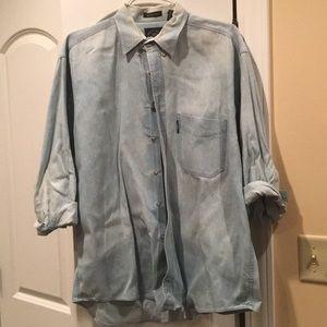 Salty Dog Gant Denim Button Down Shirt