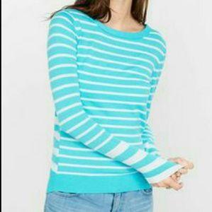 Express Striped Knit Sweater