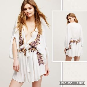 NWT Free People Pretty Pineapple Dress