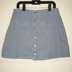 New Kendall and Kylie denim skirt