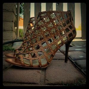 Michael Kors high Heels booties open toe