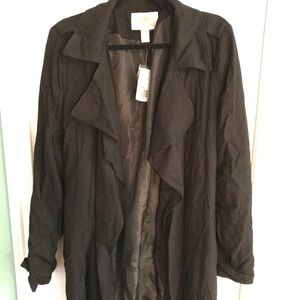Forever21 wrap trench coat