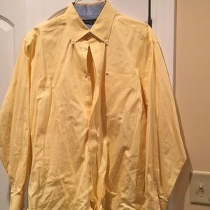 Tommy Hilfiger Yellow Button Down Shirt
