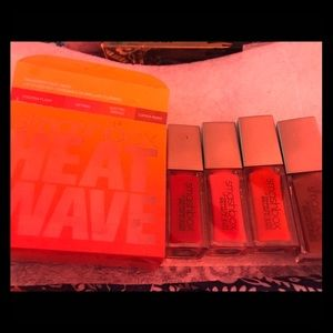 New Smash box lipstick kit 4 gloss sticks