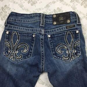 Miss me jeans sz 25 x 32 boot
