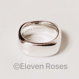 Tiffany & Co. Square Cushion Band Ring