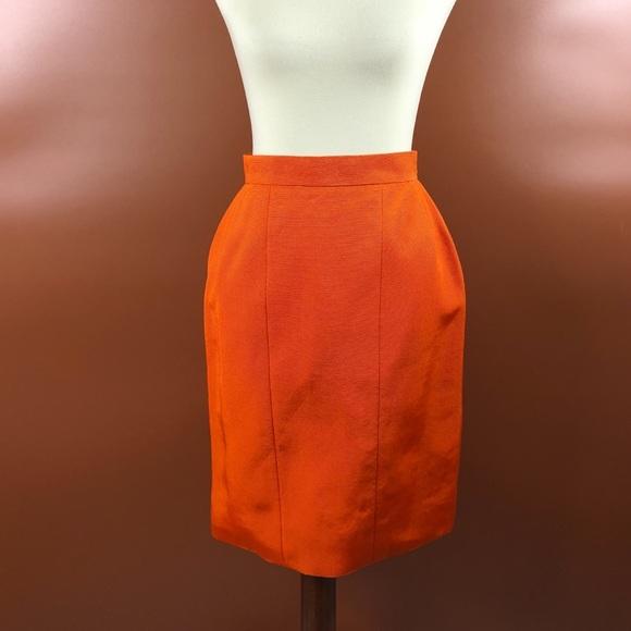 0d2d1139346 CHANEL Dresses   Skirts - Vintage 90s Textured Chanel Pencil Skirt S
