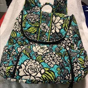 """Vera Bradley retired """"Island blooms"""" lg backpack"""