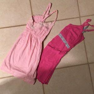 Bundle of 2 Camis Medium and 1 Size