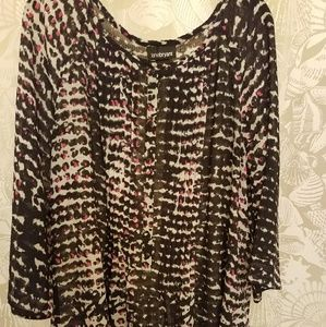Lane Bryant Tunic Flowing Top