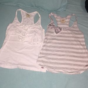 2 hollister tank tops