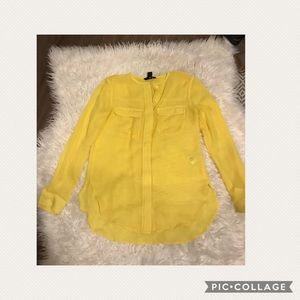 H&M blouse size 2 small