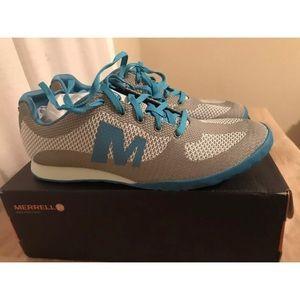 Shoes - Merrill Putty/Blue size 8.5 Civet sport casual