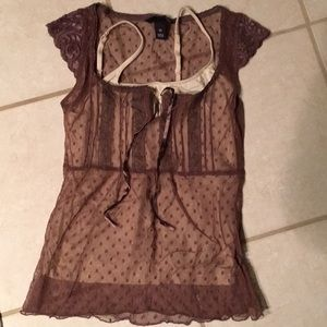 H&M Lace Top With Cami.