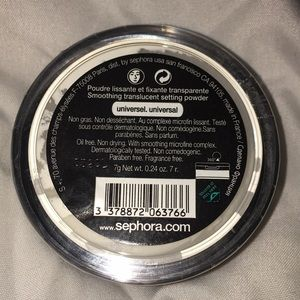 Sephora Collection Setting Powder