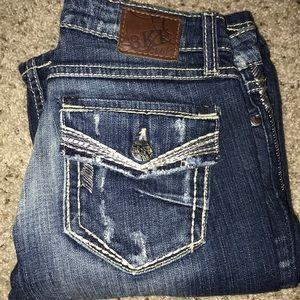 BKE Sabrina Wide Leg Jeans