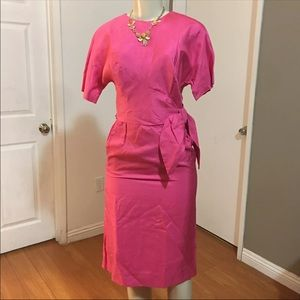 Authentic 1955 Vintage Form Fitting Dress