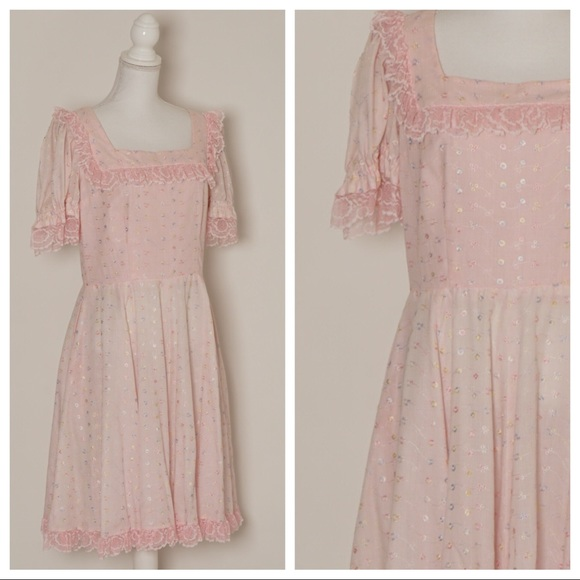 9bb6c53d8418 Vintage Dresses   5 For 25 Sale Kawaii Pink Dress   Poshmark