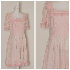vintage kawaii pink dress