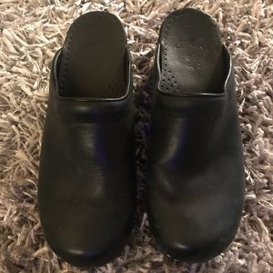 Dansko Shoes Professional Clogs Black Women's 39