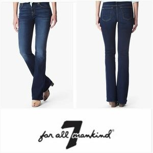 7 for All Mankind Mid Rise Kimmie Bootcut Jeans