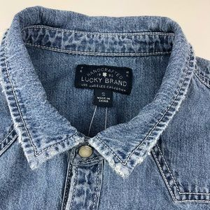 Lucky Brand Dresses - NWT Lucky Brand Western Shirt Dress