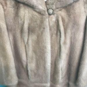 Vintage Real Mink Bolero Jacket