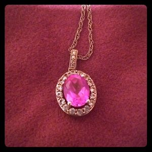 Zales Pink Necklace