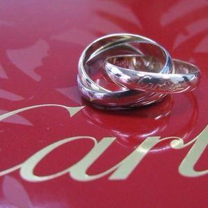 Cartier 18KT La Maison Cartier Trinity 3Color Ring