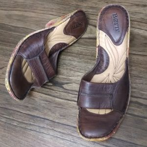 Born Hand Crafted Footwear Painted Leather Sandals