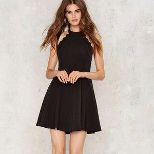 Nasty Gal black mini dress