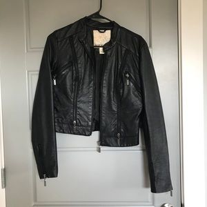 CLOSET CLOSING Leather Jacket