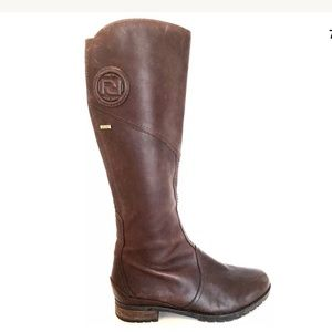 Rockport Brown Tristina Waterproof Knee High Boots