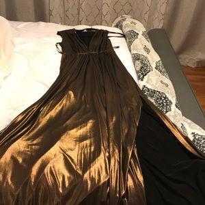 Long formal Bebe dress