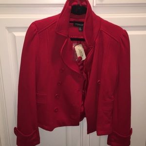 Holiday RED jacket!!