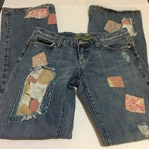 Miss Me Jeans patches size 28