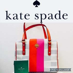 ♠️ KATE SPADE Signature Drillak Damian Handbag